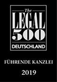 Legal 500: SWD Rechtsanwälte gehört zu Deutschlands führenden Kanzleien